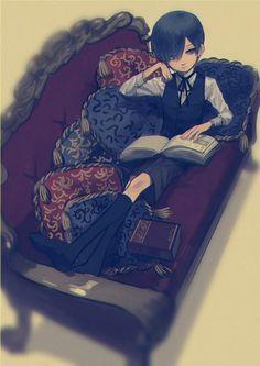 Black Butler Characters, Anime Characters, Black Butler Manga, Anime Child, Anime Art, Manga Anime, Ciel Phantomhive, Black Butler Kuroshitsuji, Anime Guys