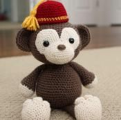 Amigurumi Pattern - Simi the Monkey - via @Craftsy