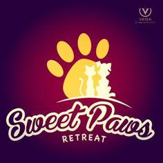 Vega logo for Sweet Paws Retreat in Yorkville, IL.