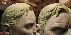 Sculpting Tutorials: Casteline Hair Sculpting Tutorial by Andy Bergholtz Sculpting Tutorials, Art Tutorials, Hair Clay, Anatomy Sculpture, Face Anatomy, Sculpture Techniques, Sculpture Head, Zbrush, Curly Hair Styles