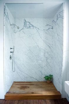Groutless? Yes, I don't think that's a real word, but it should be! After re-grouting my showers over the past couple of weeks I am over tiles and grout. Why is there such a thing? I like low maintenance and I started searching for ideas (for next house one day!) on how to have a … #ShowerPanels
