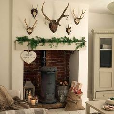 Let's see Christmas time on the #fireplace