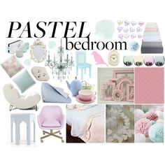 """""""A Sweet Pastel Bedroom"""" by ali-harmony-brown on Polyvore"""
