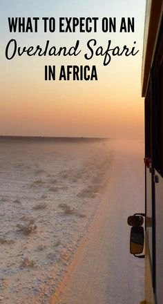Are you wondering what to expect on an overland safari in Africa? Click for a run down on daily life on the truck inc eating, sleeping, activities & more!