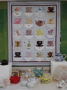 AMAZING!  Here is what Sandy can do with her vintage hankies and doilies - click to enlarge