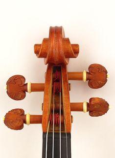 """""""Plowden"""" Guarneri del Gesu 1735 model violin by Leroy Douglas"""