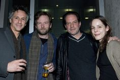 Quentin Mare, Dallas Roberts, Danny Mastrogiorgio, and Anita Anthonj