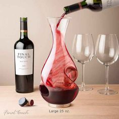 This gorgeous decanter for any couple who appreciates a good bottle of wine.