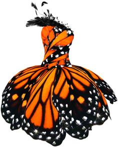'Monarch Butterfly Dress'