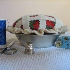 Strawberry Pie Pin Cushion