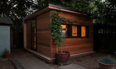 British company in.it.studios creates green garden studios for you to work from home and save the environment.