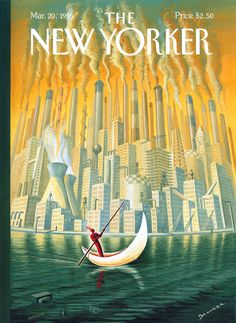 The New Yorker - cover by Eric Drooker