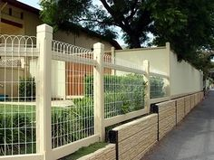 decorative wire fencing for gardens - Google Search