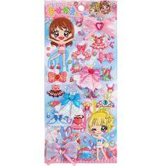 Q-lia Dressup Stickers: Princess Crystal