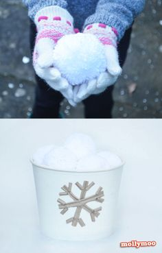 Pom Pom Snowball Battles - the biggest hit of the winter holidays so far | MollyMoo