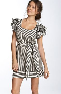 French Connection 'Candy Stripe' Dress