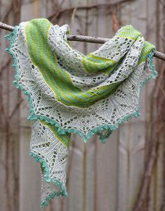 Red Pepper Quilts: Germinate Shawl :: A Finished Knit