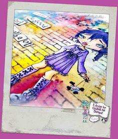 PaperPlotterLottas - CraftChaos: Oddball: Girl with bad habbits