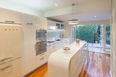 Retro White Kitchen