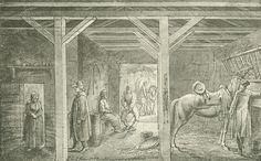 Chodowiecki, Das kassubische Wirtshaus bei Wutzkow (Danziger Skizzen, 1773).