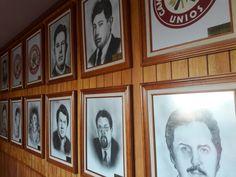 Dirigentes de la Liga de Comunidades Agrarias y Sindicatos Campesinos del Estado de México