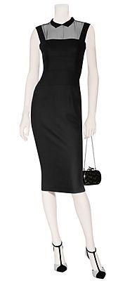 BlackWool-BlendHeadmistressDressbyL'WRENSCOTT | Luxury fashion online | STYLEBOP.com