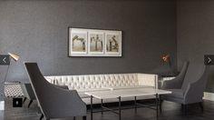 Idea tapicería - Sillón / cojines franela gris de  www.luisaolazabal.com