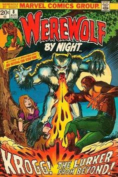 Werewolf by Night #8 - The Lurker Behind the Door! (Issue)