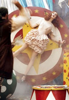 A Smashing Time Vogue Italia, April 2007 by Steven Meisel Model: Karen Elson