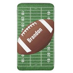 Football Design Smartphone Pouch