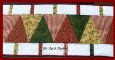 trilho mesa em patchwork