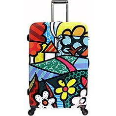 7fa73297f FLOWER luggage tag $20 | BRITTO Travel | Tags, Tag art, Travel