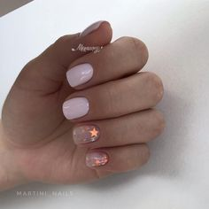 """If you're unfamiliar with nail trends and you hear the words """"coffin nails,"""" what comes to mind? It's not nails with coffins drawn on them. It's long nails with a square tip, and the look has. Dream Nails, Love Nails, Pretty Nails, Coffin Nails, Acrylic Nails, Minimalist Nails, Stylish Nails, Casual Nails, Perfect Nails"""
