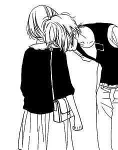 love anime abrazo - Buscar con Google