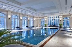 Indoor swimming pool  Design studio Galerie 46 project
