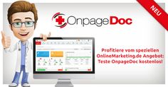 Tool-Check: Ganzheitliches SEO mit OnpageDoc [Sponsored Post] - Mehr Infos zum Thema auch unter http://vslink.de/internetmarketing