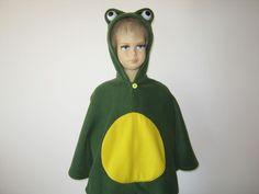 frosch halloween fasching kostüm cape für kleinkinder von bighead5005 auf Etsy