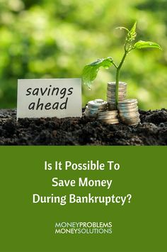 Bankruptcy is about allowing a person a fresh start from his or her debts. It's a process that can help you rebuild your savings, even during bankruptcy.