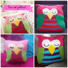 We love this owl #knitting pattern so much, we're giving it to you for free!