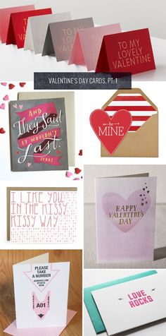 I have to admit that I'm not a big fan of Valentine's Day. Why do we need a special day to tell the people we love that we love them? However, I AM a big fan of awesome Valentine's Day cards which,...