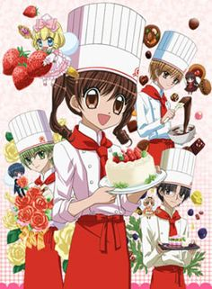 "Adaptation of Natsumi Matsumoto's shoujo manga Yumeiro Patissiere (Dream-Colored Pastry Chef). The manga, which premiered in September 2008, tells the story of 14 year old Ichigo Amano, a clumsy girl who dreams of becoming a pastry chef. She draws closer to fulfilling her dream when she enrolls in the St. Mary Academy culinary school and meets a tiny ""spirit of sweets."""