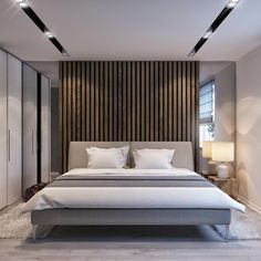 Home Decor Themes 42 Stunning Modern Style Make Great Your Bedroom Again - Elevatedroom.Home Decor Themes 42 Stunning Modern Style Make Great Your Bedroom Again - Elevatedroom Bedroom False Ceiling Design, False Ceiling Living Room, Master Bedroom Interior, Bedroom Bed Design, Modern Master Bedroom, Modern Bedroom Design, Minimalist Bedroom, Home Bedroom, Bedroom Decor