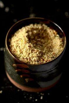 Parmesan végétal à la pistache et tartelette express aux épinards #vegan