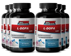 Macuna Capsules - L-Dopa - l-dopa Extract for Mood Supplement (6 Bottles 360 Capsules) * Read more info by clicking the link on the image.