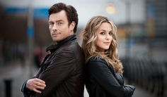Series 2 of Vexed. Toby Stephens & Miranda Raison (Jo from MI5). Not many pins out there from this show, which is too bad, because it's a fun little romp of a detective show. (Besides, Toby Stephens is delightful in anything!)