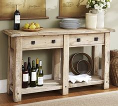 Possibly for the kitchen as well. Pottery Barn.  Build it cheaper