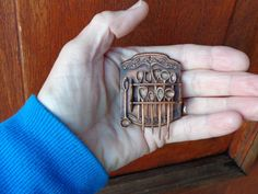 Vintage wooden spoon rack. https://www.etsy.com/shop/LynnJowers