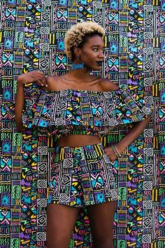 15 Fresh Spring Editorial Fashion Ideas You Must Know - Fazhion African Inspired Fashion, African Print Fashion, Africa Fashion, Fashion Prints, African Prints, African Attire, African Wear, African Dress, African Style