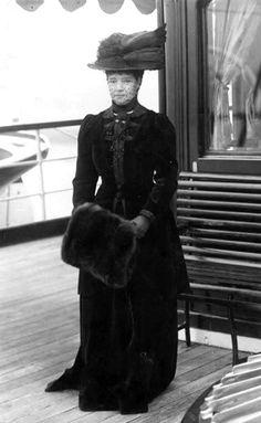 "the-last-tsar: "" Dowager empress Maria Feodorovna at the Polar Star. """