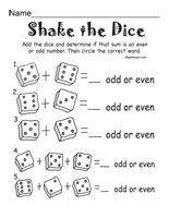 Odd and Even Numbers: Activities, Worksheets, Printables, and Lesson Plans